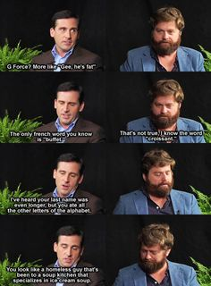 Between two Ferns... funny stuff