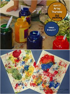 Foil Imprint Art to celebrate Artsy Thursday of NAEYC's Week of the Young Child™. Art Activities For Toddlers, Preschool Arts And Crafts, Infant Activities, Preschool Activities, Toddler Art, Toddler Preschool, Toddler Crafts, Infant Classroom, School Classroom
