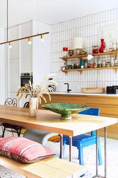 Kitchen And Bath, New Kitchen, Kitchen Nightmares, Studio Kitchen, Eclectic Decor, Beautiful Kitchens, Decor Interior Design, Home Renovation, Interior Inspiration