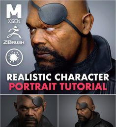 You should have a basic knowledge of Zbrush, Maya and Photoshop. No prior knowledge is required for Wrap and Mari as I will teach you the basics of these… Digital Painting Tutorials, Digital Art Tutorial, Art Tutorials, Character Modeling, Character Portraits, 3d Modeling, 3d Character, Zbrush, Animation Classes
