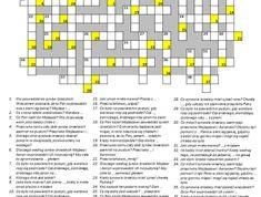 Manna i przepiórki - zeszyt - Biblia Dla Dzieci Thing 1, Crossword, Bible, Crossword Puzzles