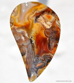 Turkish Pseudomorph Agate Gemstone Cabochon © 2015 LEXXSTONES.COM