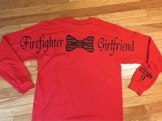 Fire fighter girlfriend Can also be made for by StudioChaseDesigns