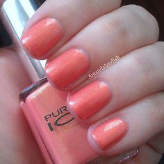 Pure Ice Twinkle - Have and love this color. Thinking I will repaint my nails this color today!