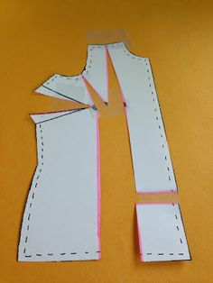 How to do a Y-dart full bust adjustment (FBA) on sewing patterns - for 3+ inch adjustments