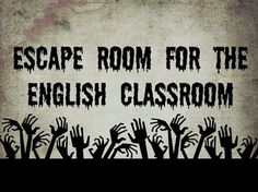 You need to try this escape room in your English classroom! Make students critically think to solve the puzzle! Middle School Ela, Middle School English, Middle School Classroom, English Classroom, Literacy Games Middle School, 8th Grade English, English Games, English Fun, Teaching Strategies