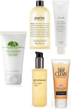 My Top 5 Face Cleansers! Featuring Origins, Philosophy, Fresh, Epionce, and Neutrogena!