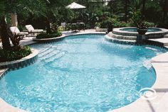 Everyone loves luxury swimming pool designs, aren't they? We love to watch luxurious swimming pool pictures because they are very pleasing to our eyes. Now, check out these luxury swimming pool designs. Luxury Swimming Pools, Luxury Pools, Dream Pools, Swimming Pools Backyard, Swimming Pool Designs, Pool Landscaping, Pool Spa, Swimming Pool Pictures, Living Pool