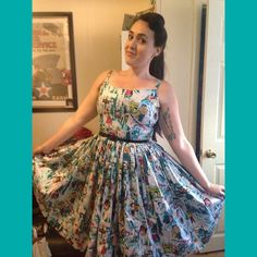 My first Jenny dress. Oh my lawd. Yes.  #pinupgirlclothing @pinupgirlclothing