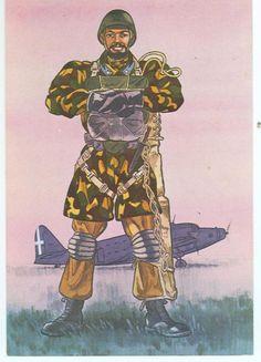 Regio Esercito - Paracadutista, Sardegna, 1942