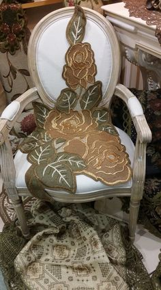 Panama, Accent Chairs, Cross Stitch, Furniture, Home Decor, Embroidery, Upholstered Chairs, Punto De Cruz, Decoration Home