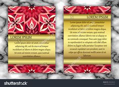Invitation Or Greeting Card Design Template. Vintage Decorative Elements With Mandala, Delicate Floral Pattern. Islam, Arabic, Indian, Ottoman, Aztec Motifs Stock Vector Illustration 496240633 : Shutterstock