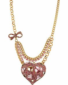 Look at this perfect pinkalicious heart necklace, just what every girl wants and needs!!! #12daysOfBJ