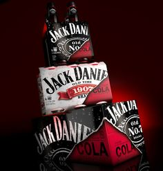 Jack Daniel's Ready To Drink Packs on Packaging of the World - Creative Package Design Gallery