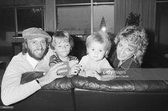Rendezvous With The Gibb Brothers In Miami. Etats-Unis, Miami, 8 novembre 1981, le groupe musical australo-britannique formé par les trois frères GIBB s'est ...