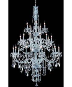 Elegant Lighting 7825G43 Verona 43 Inch Chandelier | Capitol Lighting 1-800lighting.com
