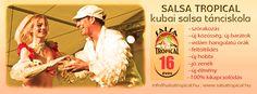 Gyere hozzánk kubai salsát táncolni! Klassz közösség, jó zenék! www.salsatropical.hu