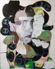 pascal marlin. Portrait of Woman, 2012.