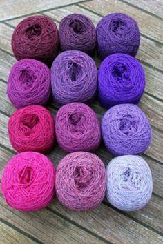 Kleurige wol van Christel Seyfarth