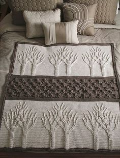 Tree of Life Afghan Free Crochet Pattern
