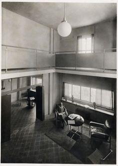 Vivienda en la Calle Muntaner (Josep Sala, Barcelona, 1931) del arquitecto Josep Lluís Sert.