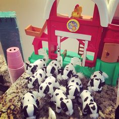 Our Styled Suburban Life: Oink! Cluck! Neigh! Moo! Bradley is Turning Two!