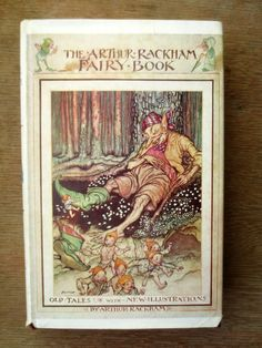 Arthur Rackham's Fairy Book (1973) by Arthur Rackham - Vintage Childrens' Book