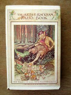 Arthur Rackham's Fairy Book (1973) by Arthur Rackham - Vintage Childrens' Book