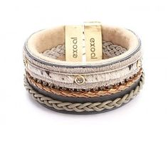 Exoal Leather bangle  My love for bracelets is increasing.