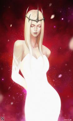 [White Queen, mist XG on ArtStation]