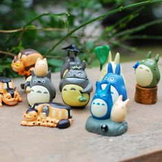 Totoro ornaments genuine creative landscape moss micro mini doll accessories doll small plants and gardening accessories - Taobao