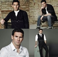 Whatta hottie you are Lionel Messi!!! ;)