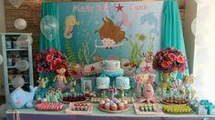 Ideia Festa Infantil - Fundo do Mar