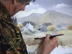 ▶ David Bellamy demonstrates a farmyard in watercolour - YouTube