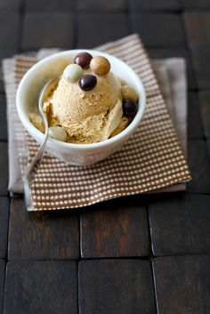pumpkin spice latte ice cream by annie's eats