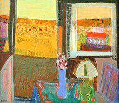 Knut Irwe (Swedish, 1912-2002). View from a Window.