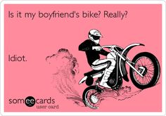 One for My Girlie Motorcycle Riders | Fuzzygalore.com