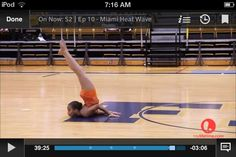 Chin-stand from dance moms
