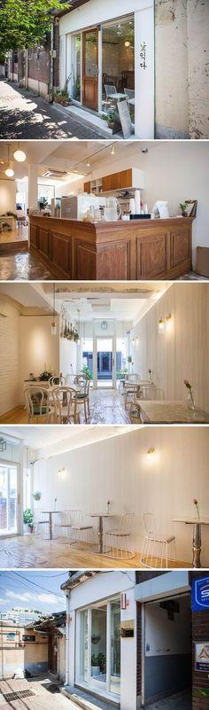 [No.191] 15평 익선동 화이트 빈티지 모던 카페 인테리어, white vintage modern cafe interior