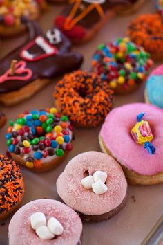 Voodoo Doughnut, Too! located in NE Portland, Oregon features unusual doughnuts