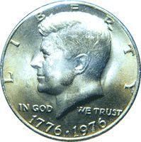 1976 Kennedy Half Dollar