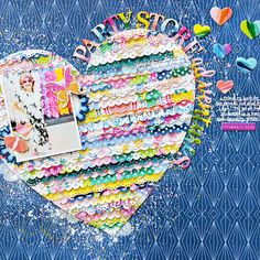 """It's important to keep track of the big special moments, but it's just as important to document the little moments that happen each day! Capture your every day adventures with the inspiring """"Horizon"""" Collection from Pink Paislee! Scrapbook Page Layouts, Scrapbook Cards, Scrapbooking Ideas, Scrapbook Sketches, Image Layout, White Acrylic Paint, Party Stores, Travel Scrapbook, Layout Inspiration"""