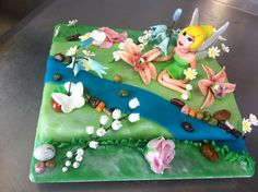Tinkerbells cake by Kavarium