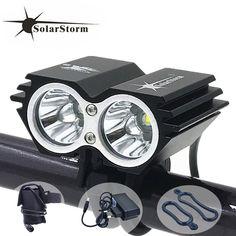 Cycling bicycle bike light 5000 Lumen 2x XM L U2 LED flashlights lamps For Bike 8