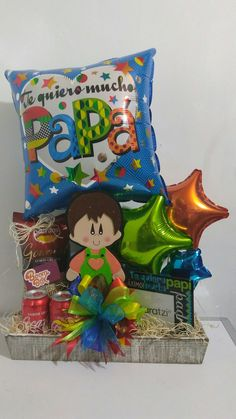 Bouquet Box, Candy Bouquet, Balloon Gift, Birthday Candy, Boombox, Mother And Father, Pink Candy, Fathers Day, Bouquets