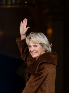 Princess Irene of The Netherlands waves as she attends the Koninginnedag concert (Queen's Day concert) at Royal Palace Noordeinde in The Hague, 23 April 2013