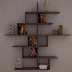 Decortie Line No-4 Wall Shelf, Wenge