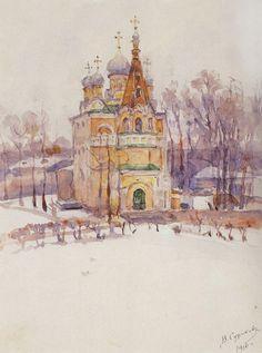 Image Detail for - Church - Vasily Surikov - WikiPaintings.org
