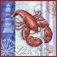 red lobster wall art