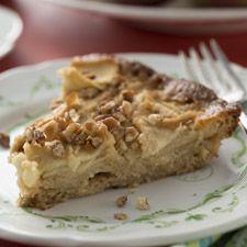 Naked Apple-Vanilla Pie - A simple, crustless apple pie.